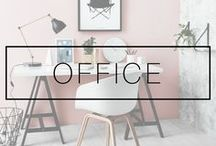OFFICE DECOR / Home office ideas and inspiration