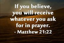 Bible - Matthew /  Bible Quotes from the New Testament - The Gospel of Matthew
