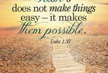 Bible - Luke / Inspirational Bible quotes from the Gospel of Luke