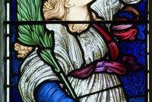 Stained Glass Windows / Beautiful stained glass windows.