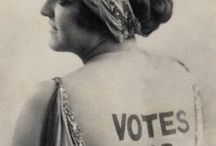 Vintage voting / Suffrage-related photos and memorabilia