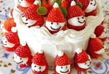 Christmas Food / Christmas meals - dinners, breakfasts and deserts