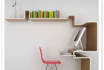 Creative, Organized Office Space Ideas / Ways to create an inspiring, creative office space at home or at work.