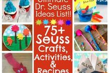 Simple Seuss Celebrations / Dr. Seuss party, craft, treat, book activities, printables and more from bloggers who are inspired by the books of Dr. Seuss. / by Victoria Saley @obSEUSSed
