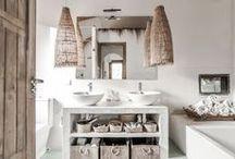 B A T H R O O M / bathroom inspiration | bohemian & minimalist