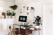 O F F I C E / office inspiration | bohemian & minimalist