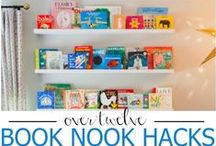 Book Nooks / Reading places. Special spots to escape for an hour or two of reading.