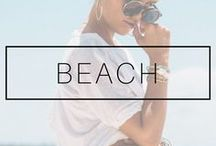 BEACH LOOKS / Beach outfits for women, beach outfits for vacation, beach outfits for beach wedding, beach style inspiration and ideas. Beach products essentials and must-haves for the beach and vacation time!