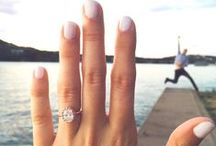 Put a Ring On It / Our favorite engagement rocks... *ahem* we mean rings.