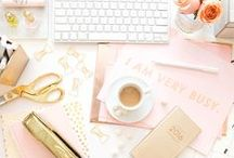 Girl Boss / Because office goals! On our way to live our dreams, brb.