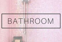 BATHROOM IDEAS / Bathroom ideas for remodel and bathroom inspiration for all the bathroom obsessed people :D