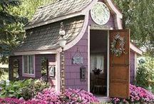 Tiny houses and Garden Sheds / Want to build a small house. Someday. Maybe. Dream on