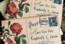 Wedding stationery ideas / Looking for wedding stationery inspiration?  Look no further.  In this board you will find a wide variety of save the date cards, invitations, seating charts, table settings and more.