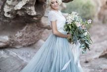 Wedding fashion / Wedding dresses (from designer to alternative), men's suits for grooms and groomsmen, bridesmaid dresses, wedding veils, flower crowns and wedding shoes.  Plenty of inspiration here!