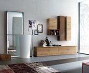 Arcom_ essenza legno / mobili in legno impiallacciato ( rovere nodato e rigato, legno invecchiato, corteccia)