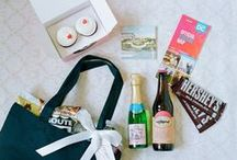Welcome Bags and Favors / Consulting and Design by A. Dominick Events www.adominick.com