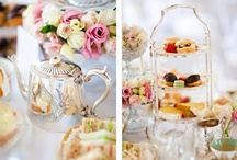 TEA PARTY TIME! / What girl doesn't like dreaming about the perfect tea party??  / by Chrissy Nowak