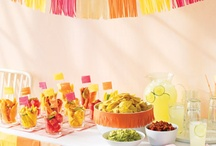 Summer Party!! / Ideas for a summer party. I love bright colors and decorations. YUM. / by Chrissy Nowak