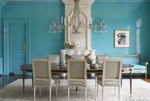 Dining Rooms / by Wanda Crossley  Matthews House & Garden