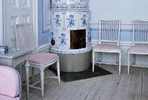 Fireplaces~Stoves / Fireplaces,Swedish Stoves,Woodstoves / by Wanda Crossley  Matthews House & Garden