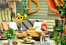 outdoor decor / by Bette M Belic