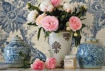 Blue~White~Pink / by Wanda Crossley  Matthews House & Garden