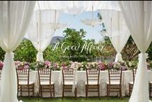 """AGA Special Events / Browse through some of our past projects for real clients looking for """"impeccable design & unforgettable planning"""" / by A Good Affair Wedding & Event Production"""