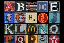 Alphabets and Fonts / by Libby Carlson