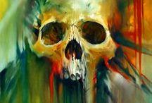 Skull and Bones (Art) / by Libby Carlson