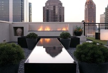 Balcony~Rooftop Gardens / by Wanda Crossley  Matthews House & Garden