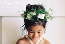 Adorable Flower Girls / by A Good Affair Wedding & Event Production