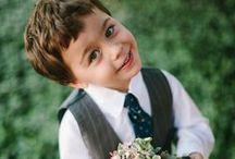 Dapper Ring Bearers  / by A Good Affair Wedding & Event Production
