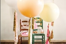 Fly Away with BALLOONS {Chic design- Classic Cheer} / by A Good Affair Wedding & Event Production