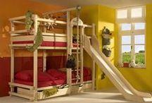 Loft Bed Ideas / by Elizabeth Elledge