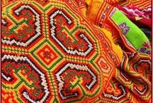 Hmong Embroidery, Cross Stitch & Applique
