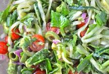 365 Salads - / only vegetarian recipes PLEASE  / by Ginny Rowenna