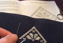 Kogin (Japanese) Embroidery / Kogin embroidery & kits