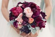 Berry Tones| Haute Color / Color trend 2015. Color palette in shades of pinks, burgundy, and purples. A Good Affair Wedding & Event Production, luxury design and planning in Southern California & Destination.