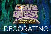Cave Quest VBS Decorating Ideas / Group's Cave Quest VBS 2016  Decorating Ideas / by Group VBS & Children's Ministry