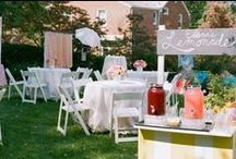 Pink Lemonade Party / Designed and Planned by A. Dominick Events