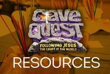 Cave Quest VBS Resources / by Group VBS & Children's Ministry