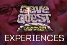 Cave Quest VBS Kid Experiences / by Group VBS & Children's Ministry
