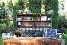 Cocktails and Dining / Everything from breathtaking table sets, fun drink ideas, and unique ways to serve guests.  / by A Good Affair Wedding & Event Production