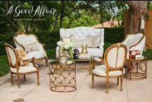 Lounging and Seating / Unique and beautiful ways to make any guest comfortable on your special day.  / by A Good Affair Wedding & Event Production