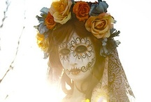 Dia de los Muertos / Day of the Dead! Honoring Death with fun, beauty, and thoughtfulness.