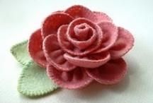 Fabric Flowers / by Helen Jackson
