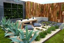 Home | Outdoor & Landscaping / For home design in areas outside in the home including the backyard, paint colors, landscaping and front door ideas