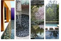 Garden inspiration & Water / only in clear water you see depth