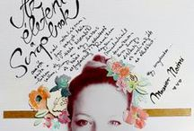 Scrapbook Inspiration / Layouts and color combinations that inspire / by Chelsey Krause