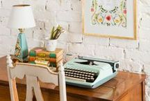 Office Inspiration  / Collecting ideas to create the office of my dreams <3 / by Chelsey Krause